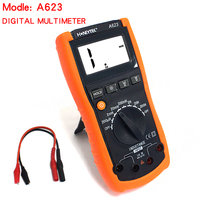 Wanptek A623 Digital multimeter Capacitance Inductance Resistance Meter tester LCR Meter Triode test Backlight withe work light