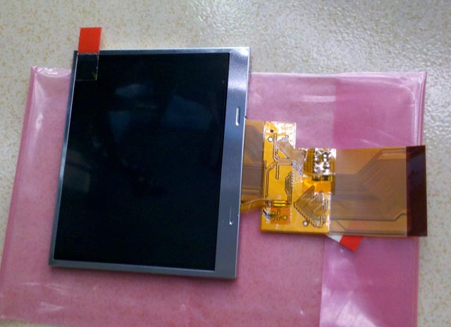 """3.5"""" Inch tianma industrial LCD Panel display screen TM035KDH03 one year warranty"""