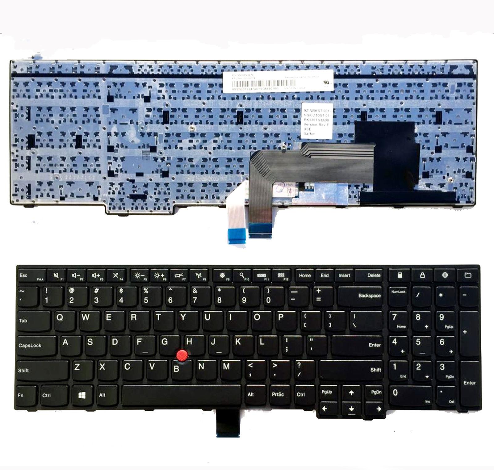 Nouveau clavier d'ordinateur portable original pour Lenovo Thinkpad E550 E550C E555