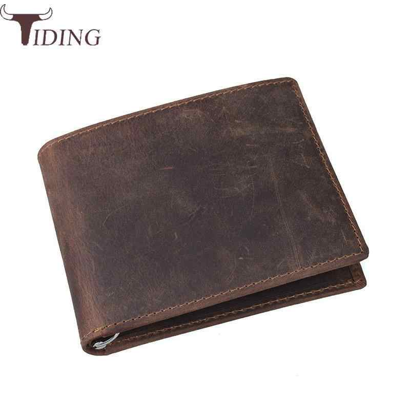 7b9101f242dd Detail Feedback Questions about Tiding 100% Cow Leather Men Wallets ...