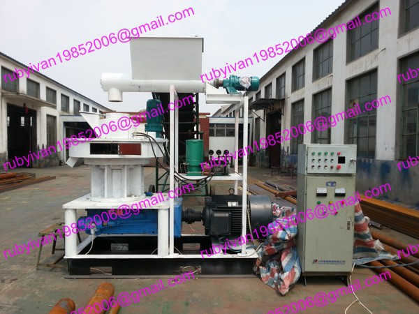 MKL450-90 Ring Die Wood Pellet Machine Automatic Lubricating System Control System