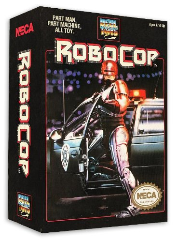 Robocop 7''/18cm Action figure 1989 Video Game Appearance Blue New in original Box