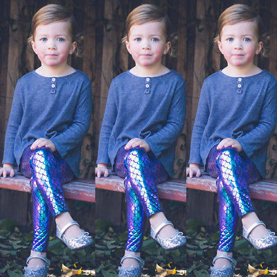 2017-Newly-Kid-Baby-Girl-Skinny-Fish-Scale-Leggings-Pencil-Pants-Trousers-Size-0-5T-3