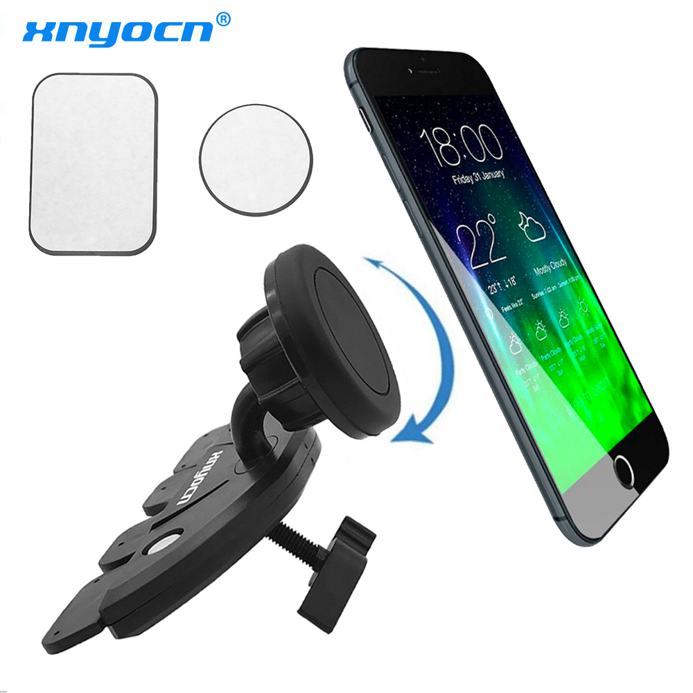 För Samsung Universal Magnetic Car Air Vent Mount CD Slot - Reservdelar och tillbehör för mobiltelefoner - Foto 1