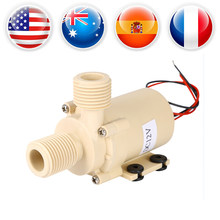 1Pcs Brushless Motor Water Pump Solar Hot Water Circulation Pump DC 12V High Quality New Arrival(China)