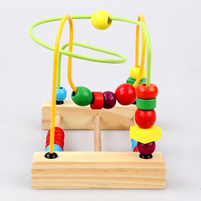 BabyToys Classic Toy Bead Maze Game Балалар - Дизайнерлер мен құрылыс ойыншықтары - фото 3