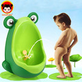 Lovely Frog Baby Potty Children Stand Vertical Urinal Wall-Mounted Urine Groove Portable Baby Potty Boy Kids Toilet Trainer BP01