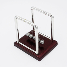 2pcs New Arrival Physic Cradle Steel Balance Ball School teaching Science Desk toys Educational Supplies Wholesale