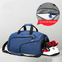 Swimming Pool Bag For Men Sports Gym Bags With Wet Pocket And Shoe Travel Duffel Bag For Women Bikini Swimsuit Storage Bag Tote