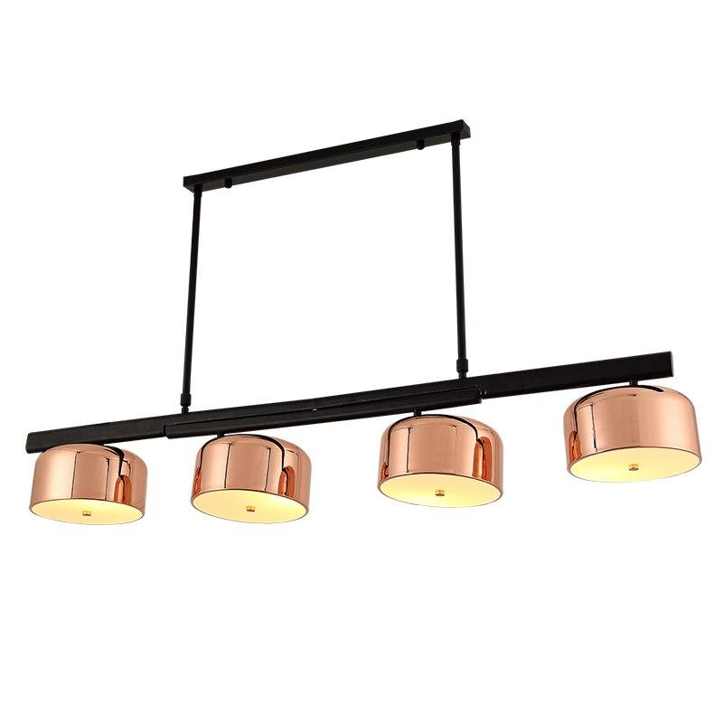 4 kopf weiß/gold lamshade Nordic LED vertraglich persönlichkeit ...