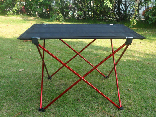 Portable Foldable Camp Table Outdoor Furniture Camping Beach Picnic  Aluminium Alloy