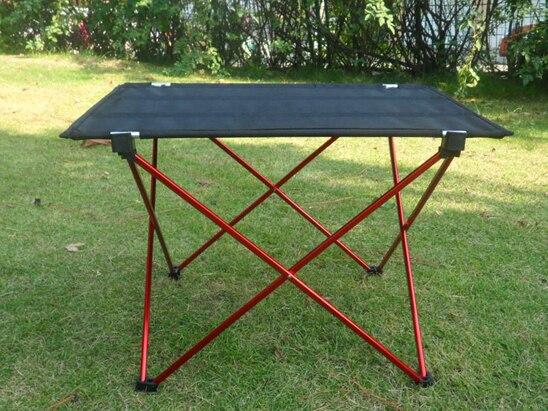 Camping pliable table achetez des lots petit prix for Table d exterieur en aluminium
