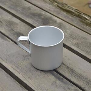 Image 4 - VILEAD 300 мл Ультралегкая алюминиевая чашка для воды с ручкой, портативная уличная бутылка для воды, кружка для кемпинга, пешего туризма, пикника, альпинизма