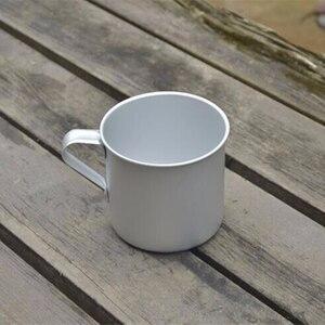 Image 4 - VILEAD 300ML 초경량 알루미늄 워터 컵 핸들 캠핑 하이킹 피크닉 배낭을위한 휴대용 야외 물병 머그잔