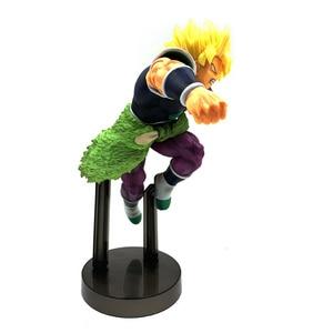 Image 5 - 21 cm סרט Z סופר Broli זהב סופר Saiyan Broly Ver. PVC פעולה איור DBZ Vegeta לחימה דגם צעצוע