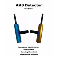 Hot Sale AKS Pepita de Ouro Detector De Metais Subterrâneo Chão Kit Diy Microcomputador Detectar Reflexão Condutividade Digger Localizador