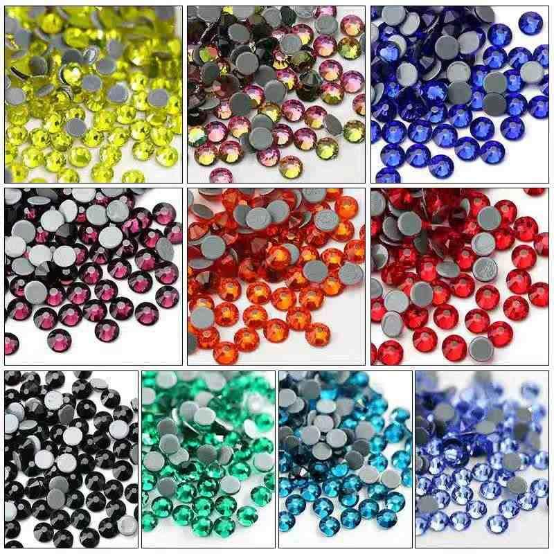 5yard/lot Big size colorful Crystal Rhinestone cup Chain