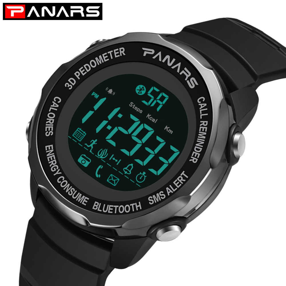 PANARS Luxury Brand Mens Sports Watches Dive 50m Digital LED Military Watch Men Fashion Casual Electronics Wristwatches Relojes