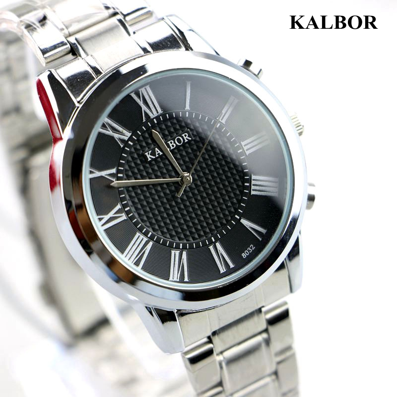 6 Colors Free shipping NEW quartz Steel Leather Band Watch Waterproof men casual wristwatches 8032