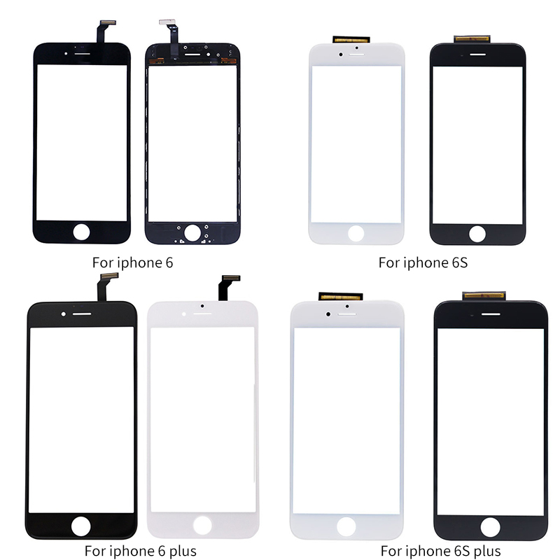 Netcosy Touch Screen Digitizer Panel Glass Lens Sensor + Frame For IPhone 6 4.7