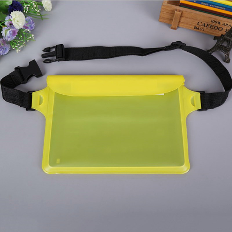 Swimming Bags Holder Waterproof Phone Pouch With Strap Belt Sealing Strip Drift