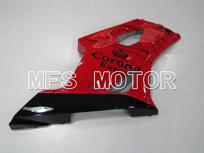 Для Suzuki GSXR 1000 К3 2003 2004 АБС впрыска Обтекателя комплекты GSXR1000 К3 03 04 - Корона - черный/красный
