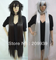kk 00711 Pandora Hearts Alice black rabbit White Party Full Wigs Straight Cosplay 49cm can choose 5.2