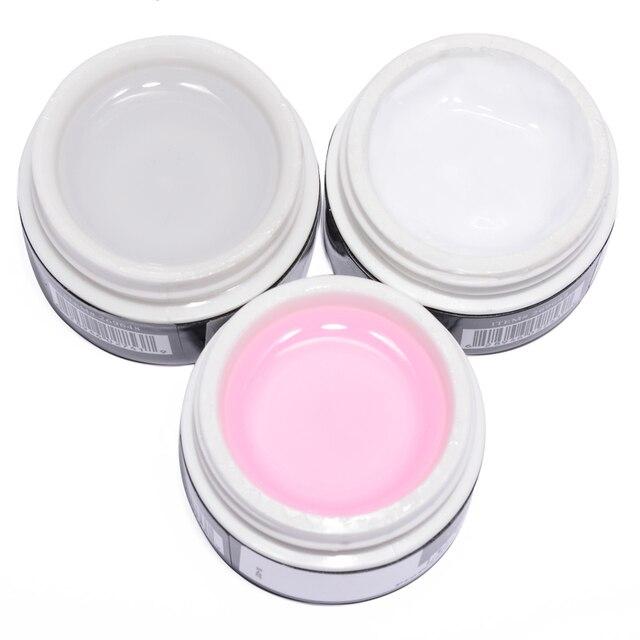 309b295e1 Valor Especiales 3 colores blanco rosa claro suministros terapia de luz  ultravioleta Uñas de gel Bases