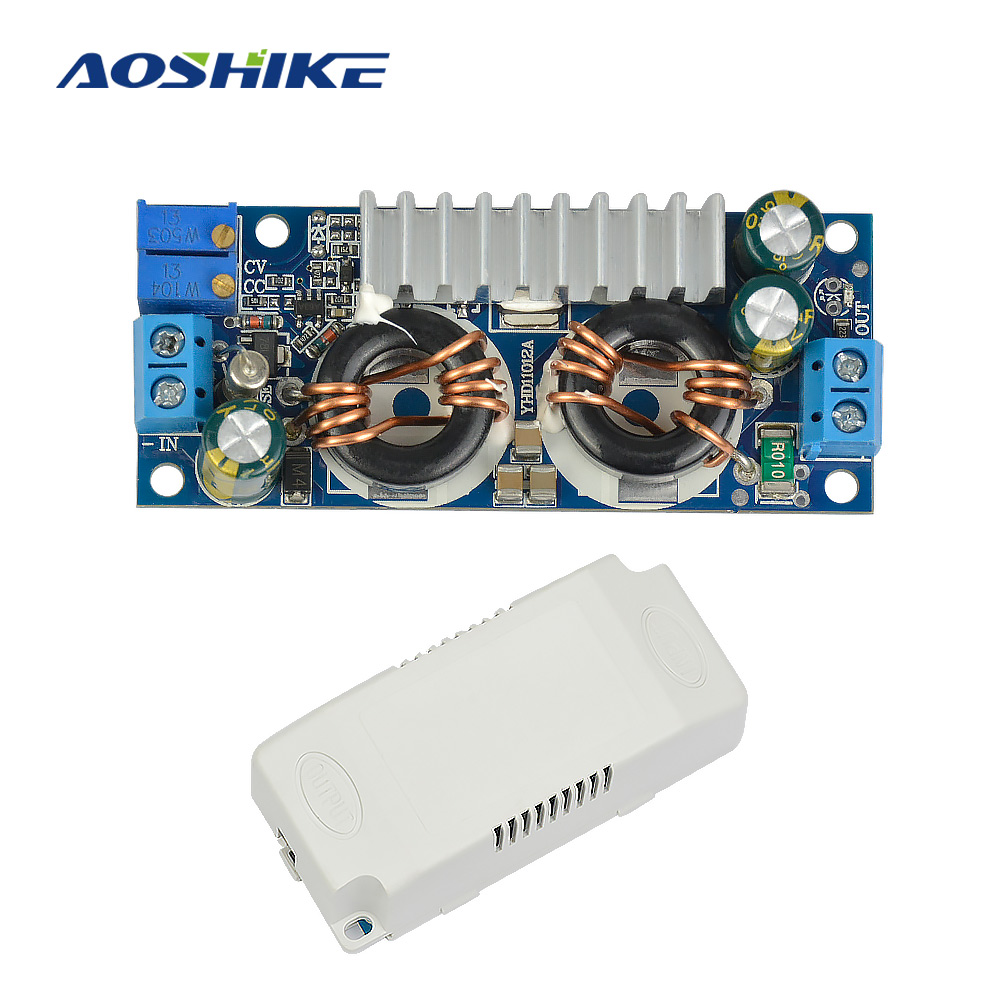 Aoshike DC-DC Automatic Buck-boost Inverter Module 5A 40W Constant Pressure Current Solar Energy Universal Charger LED Driver