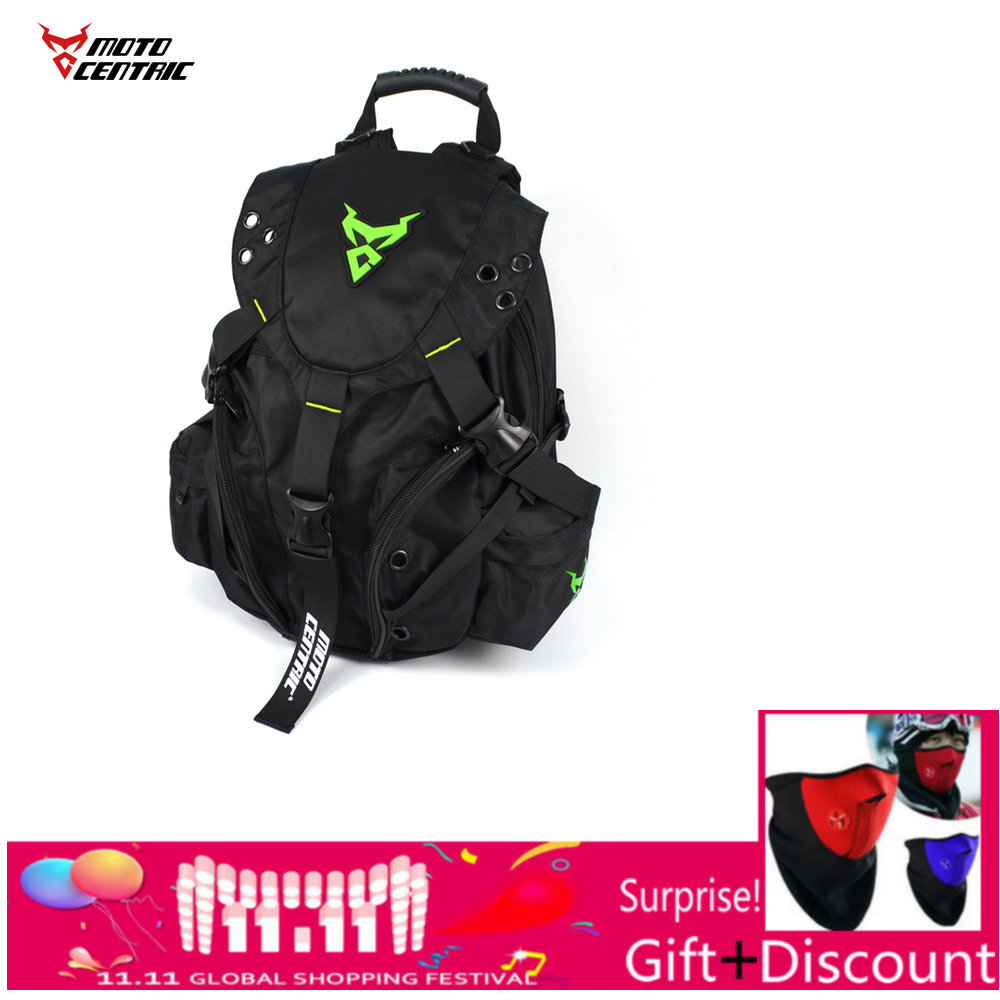 Sac à dos de chevalier motocentrique en gros sac d'ordinateur étanche protection casque sac à dos sacs de moto