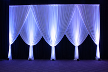 3m x 6m white Silk Wedding Backdrop wedding backdrop drapes curtain