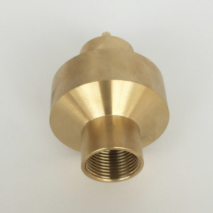 """Image 3 - 1"""" 1.5"""" Brass Double 2 Layer Shining Coat Flower Column Fountain Nozzles"""