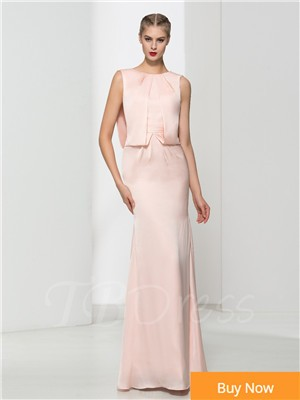 -Pink-Satin-Beaded-Evening-Dress-Long-2016-Robe-De-Soiree-Longue-Elegant-Scoop-Backless-Formal