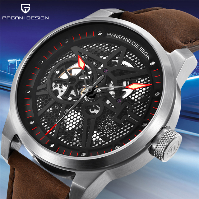PAGANI DESIGN Men Watch Fashion Luxury Brand Automatic Mechanical Watch Men Waterproof Tourbillon Sports Clock Relogio Masculino