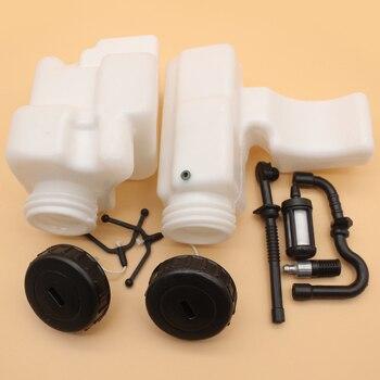Газовый топливный бак и фильтр для шланга Фильтр Крышка для Stihl MS170 MS180 017 018 бензопила Замена 1130 350 0500/11303500500