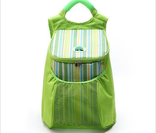 22L cooler bag New Korean insulation ice pack  picnic backpack