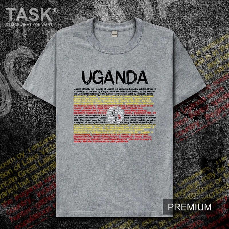 Uganda Ugandan UGA mens t shirt new Tops t-shirt Short sleeve clothes sweatshirt national team country jerseys sports summer