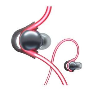 Image 3 - الأصلي Meizu هالو الليزر فلاش سماعة رأس بخاصية البلوتوث في الأذن الرياضة تشغيل سماعة مع مايكروفون سماعات الأذن المغناطيسي لجميع الهواتف OS IOS