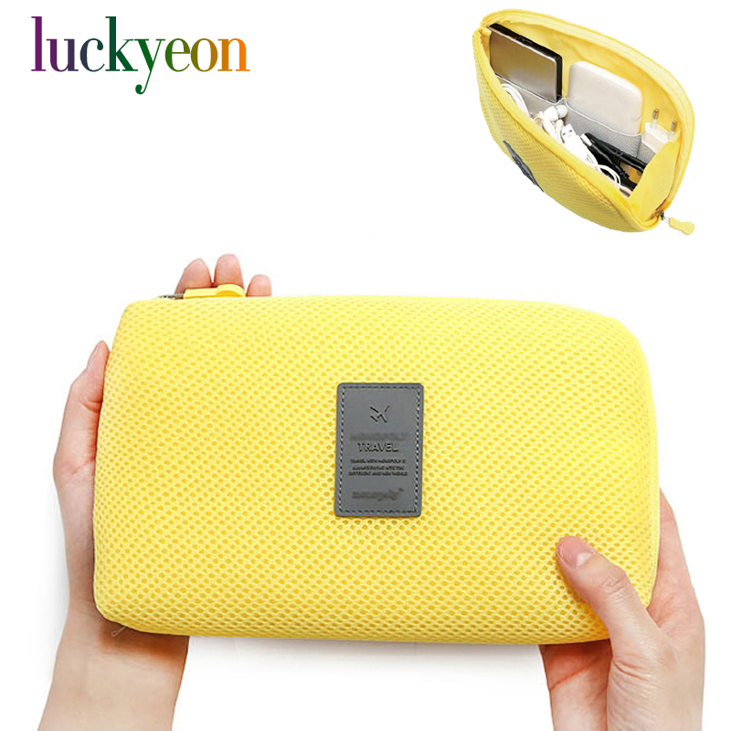 Korea Travel Business Digital Receive Bag Multi-function Chargers Make-up Bag Portable Power Supply Cable Finishing