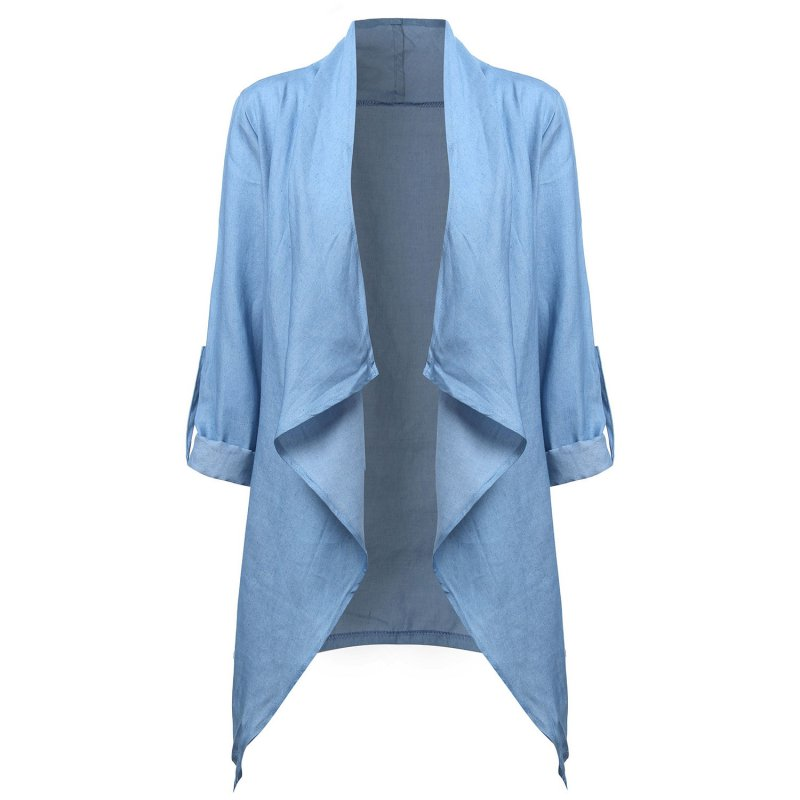 Popular Ladies Denim Blazer-Buy Cheap Ladies Denim Blazer lots ...
