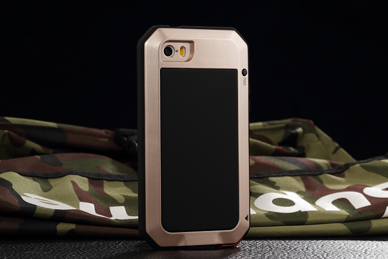 HTB1b7mKeL5TBuNjSspcq6znGFXaQ Heavy Duty Protection Doom armor Metal Aluminum phone Case for iPhone 11 Pro Max XR XS MAX 6 6S 7 8 Plus X 5S 5 Shockproof Cover