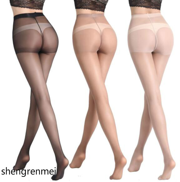 Shengrenmei 2019 Fashion Summer Tights Ladies Pantyhose Women Sexy Ultra-Thin Stocking Black Coffee Dropshipping