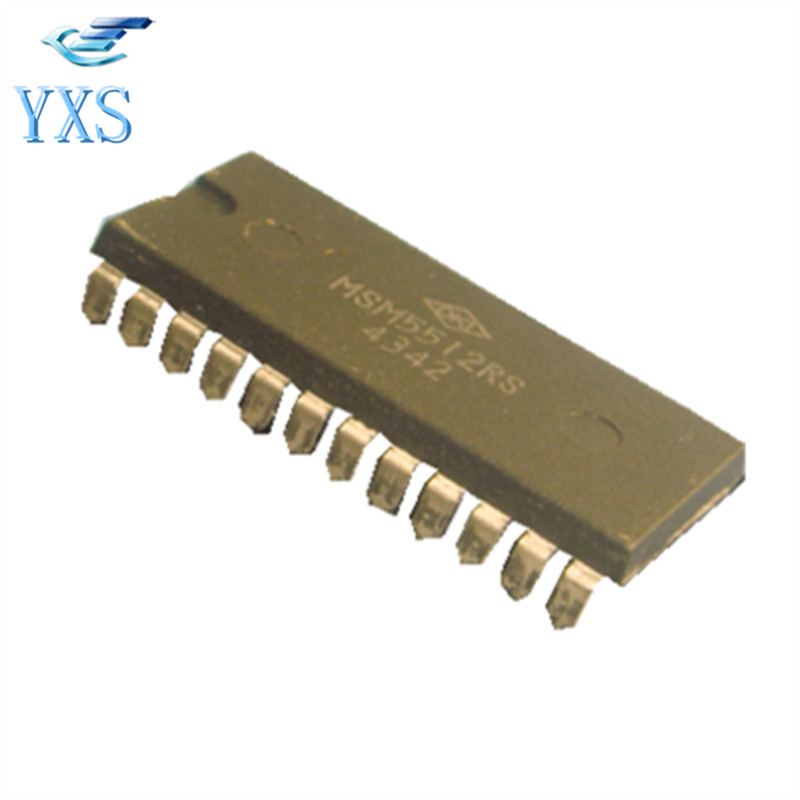 DHL Free 10 PCS/Lot MSM5512 MSM5512RS 4342 DIP 24 Electronic Components