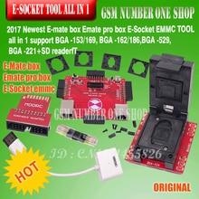 Оригинальный E-помощник коробка эмате Box E-разъем Pro EMMC инструмент все в 1 Поддержка BGA153/169, BGA162/186, BGA529, BGA-221