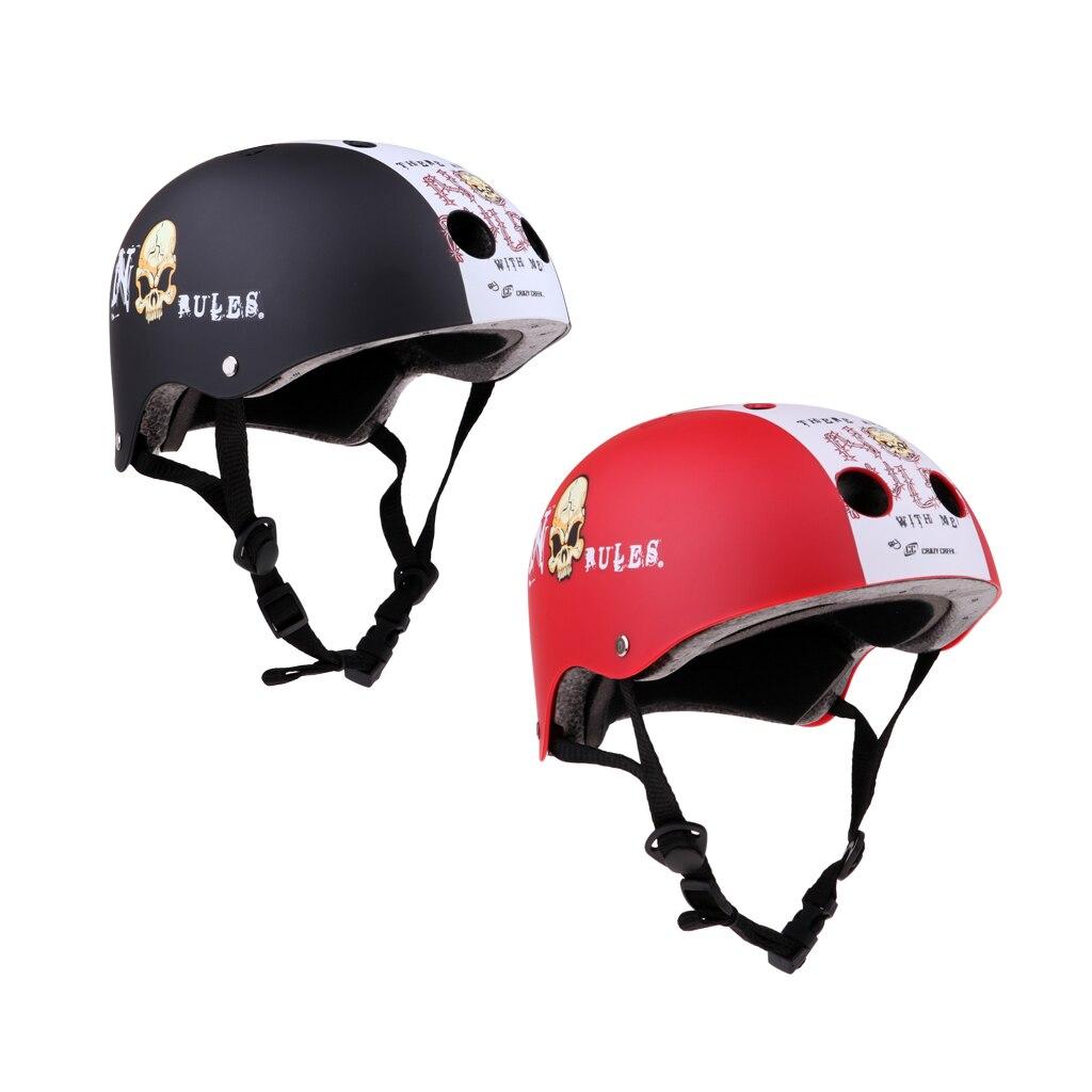 Bike Skateboard Helmet Scooter Roller Skate Head Protection Hat Outdoors