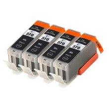 4X Compatible for PGI 570XL Big Black Inkjet Cartridge For Canon MG5750 MG5751 MG5752 MG5753 for PGI-570 PGI570 Printer Ink