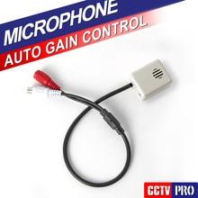 Регулируемая Мини Микрофон Звуковой сигнал Аудио Pick Up Устройство CS-04B Для Безопасности DVR CCTV Аксессуары