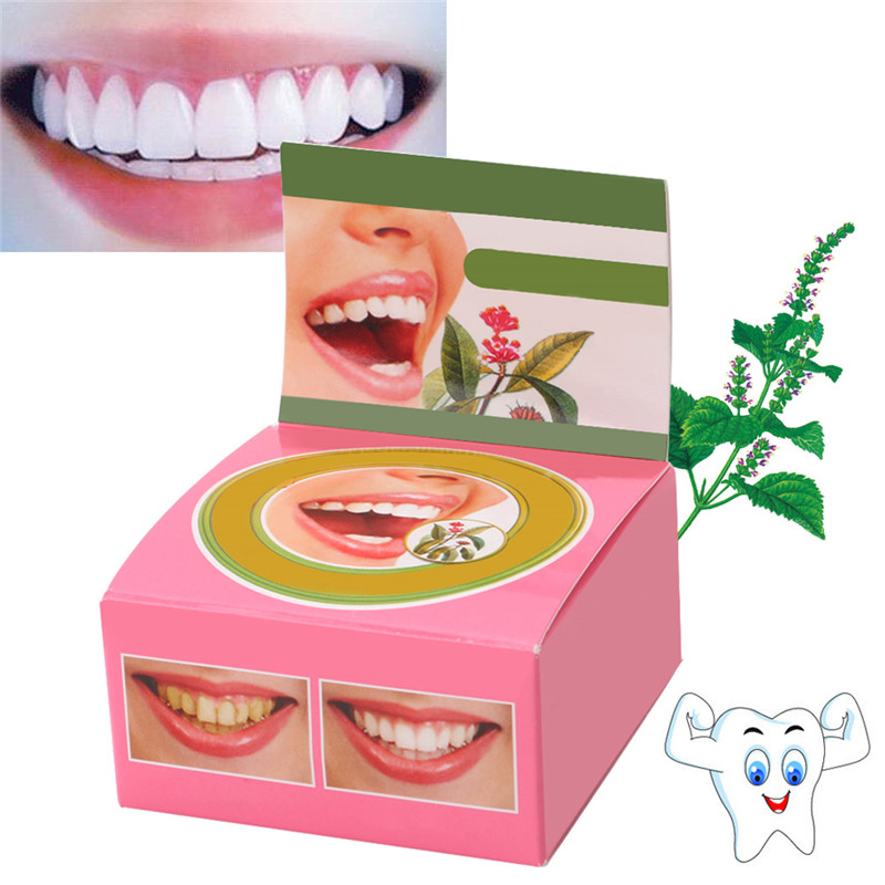 Streng Neue 1 Pc Pflanzliche Zahnpasta Zahnpflegemittel Bleaching Zähne Entfernen Schwarz Gelb Flecken 5g Heißer Verkauf 100% Original