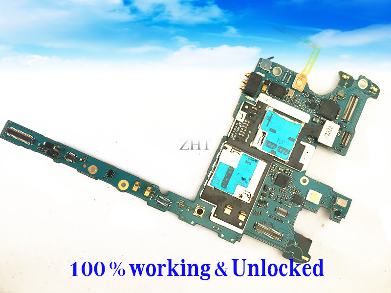 Unlocked &Original EU Version Google Motherboard For S Note 2 N7100 Motherboard Chips Logic Board Clean IMEI Free Shipping
