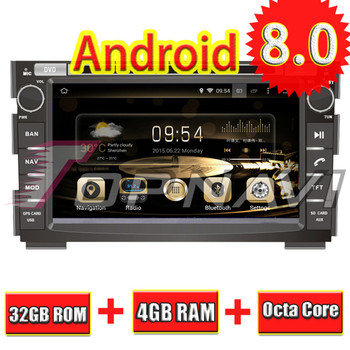Topnavi 7'' Octa Core Android 8.0 Car GPS Navigation for KIA CEED 2006 2007 2008 2009 2010 2011 2012 Autoradio Stereo DVD Player image